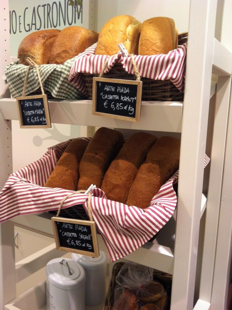 Il pane appena sfornato