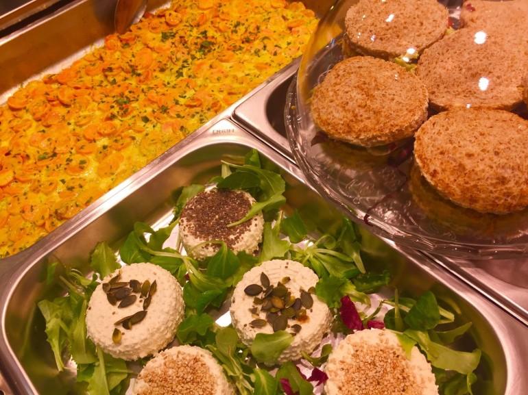 Esempi di gastronomia vegana